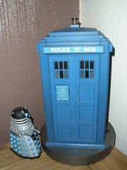 Very Rare Arc Models TARDIS (chriskingbees) Tags: doctorwho dalek tardis policebox exterminate
