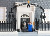 Knock knock, who's there? (peggyjdb) Tags: door house london lego margaretthatcher primeminister 10downingstreet