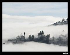The land of clouds (ghigu 74) Tags: winter mountain fog landscape nikon italia piemonte valsesia d700 rememberthatmomentlevel1