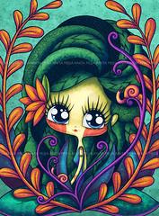 acuario RevistaTU (Anita Mejia) Tags: water illustration ink magazine drawing zodiac horoscope acuario revistatu chocolatita anitamejia
