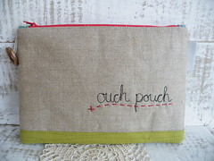 Little Treasure - back (monaw2008) Tags: house tree bird leaf branch handmade fabric pouch applique firstaid monaw monaw2008