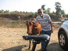 "Doug Hoffman with his Rivet in India • <a style=""font-size:0.8em;"" href=""http://www.flickr.com/photos/91196608@N03/8414439817/"" target=""_blank"">View on Flickr</a>"