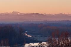 Ultime luci sul Ticino (cesco.pb) Tags: sunset sky