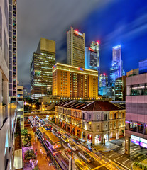 South Bridge Road at night (erwinsoo) Tags: singapore southbridgeroad