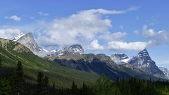 Icefields Parkway, Banff National Park, Alberta Canada (renedrivers) Tags: icefieldsparkway banffnationalpark albertacanada rchan415 renedrivers canada alberta rockymountain nature landscapes