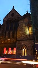 Old Saint Paul's, dusk (byronv2) Tags: oldsaintpauls oldsaintpaulschurch church kirk architecture building history dusk night oldtown edinburgh edinburghbynight nuit nacht scottishepiscopalchurch jeffreystreet 1883