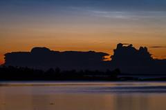 Night Thunder Timelapse (Muppian) Tags: timelapse night lightning clouds sky water sea