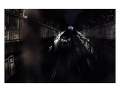 Paris by night (Photo-LB) Tags: streetphoto métroparisien m nuit light night lumière nikon d800 subway chauffeur ratp parisxiii 13 capitale france paris ambiance nocturne gear flickrfriday