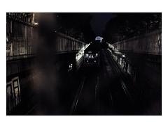 Paris by night (Photo-LB) Tags: streetphoto mtroparisien m nuit light night lumire nikon d800 subway chauffeur ratp parisxiii 13 capitale france paris ambiance nocturne gear flickrfriday
