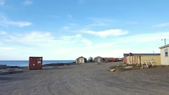 Barrow, Alaska - notice the shipping containers everywhere