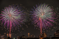 Peace Fireworks Festival 2016 (703) Tags: da18135mm fireworks japan pentaxk5 summer tokyo cityscape night nightscape nightscene nightview