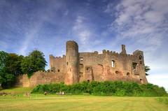 Laugharne Castle, Wales, UK (Jeffpmcdonald) Tags: laugharnecastle laugharne wales uk carmarthenshire dylanthomas nikond7000 jeffpmcdonald aug2016