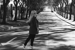 Street paparazzi (All my day) Tags: street people girl brazil blackorwhite black white