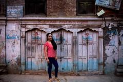 Rabena (Crossing China) Tags: nepal kathmandu ktm travel travelphotographer portrait street streetphotography streetportrait himalayas mounteverest mountains mountain mountainflight shadow girl cute nepali nepalese sunset