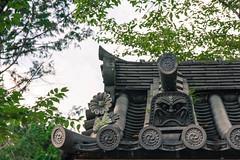 Nanzenji Temple (Hiro_A) Tags: kyoto japan japanesestyle japanesque nanzenji temple historical old architecture roof tile gargoyle nikon d7200 sigma 1770mm 1770