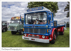 T Hill & Sons (Paul Simpson Photography) Tags: aec lincolnshire lincolnshireshowground lorries lorry imageof imagesof photoof photosof paulsimpsonphotography sonya77 transport transportshow truck vintagelorry vintageshow vintagetransport classics classic old thillandsons marketrasen landrover