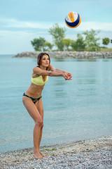 DSC07117 (Tjien) Tags: beach volleyball summer 2016 bfg swimsuit portrait outdoorportrait