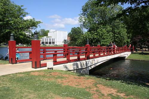 Japanese Friendship Bridge - Big Spring Park, Huntsville, AL