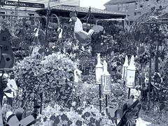 P6080801adfstt (photos-by-sherm) Tags: good quilts retail garden flowers sculpture yard accessories amana iowa summer decorations metal