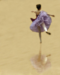 Her Escape (coollessons2004(almost completely off)) Tags: ballet ballerina girl dance dancer dancing danseuse