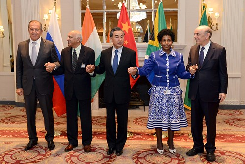 International Relations and Cooperation Minister Maite Nkoana-Mashabane at the 10th BRICS Foreign Ministerial Meeting, 20 Sep 2016