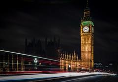 London Rush Hour (DanielSan_05) Tags: london bigben longexposure cars landmark britain clock trails bridge parliament england english tourist