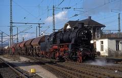 58 1111  Eisenach  xx.xx.xx (w. + h. brutzer) Tags: eisenach eisenbahn eisenbahnen train trains deutschland germany railway dampfloks steam lokomotive locomotive zug uef dampflok webru analog nikon