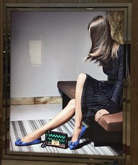 (yangkuo) Tags: fashion style faceless mobile iphone6 display store poster chic ferragamo