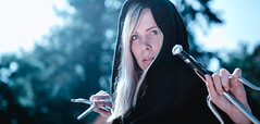 Assassin Jeanine (BotaFriko) Tags: assassin jeanine phantasy comic portrait knife sword magic blond girl beauty danger elfia arcen