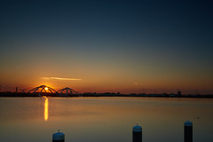 Sunset IJMeer I (Cookie-1965) Tags: sunset water niederlande amsterdam ijmeer body d810 afsnikor2470128ged urlaub