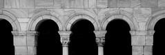 ELNE CLOISTER BLACK AND WHITE (patrick555666751) Tags: elnecloisterblackandwhite elne cloister black and white noir et blanc blanco y negro bianco e nero preto branco schwarz und weiss cloitre illiberis elnavui roussillon catalogne pyrenees orientales france europa pays catalan paisos elna roussilon languedoc