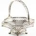 2012. English Sterling Sweetmeat Basket