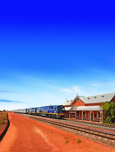 Indian Pacfic, Great Southern Railway, Australia