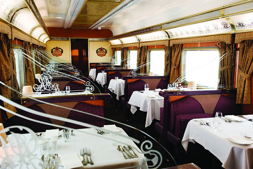 Gold Service dining, Great Southern Railway, Australia