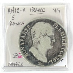 1027. France, Napoleon as First Consul