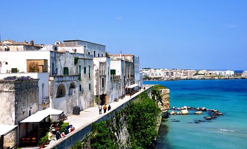 mare case di otranto antico borgo salento puglia sul... (Photo: maresalento on Flickr)