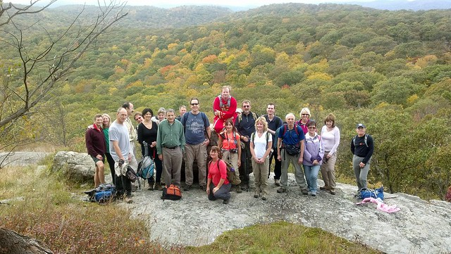 Harriman Hikers Group Photo October 14