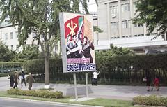 North Korea (Gabriel Prehn Britto) Tags: propaganda korea northkorea pyongyang