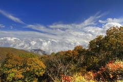 Wonders of the Blue Ridge (konrad_photography) Tags: blue autumn sky mountains color fall leaves virginia ridge roanoke va parkway