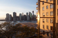 Weekend Sunset (GaborCs) Tags: new york brooklyn river manhattan east heights donwtown