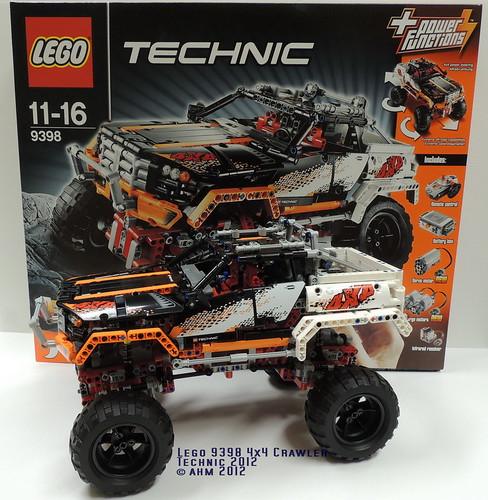 Lego technic 9398 4x4 crawler a photo on flickriver