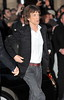 Mick Jagger of the Rolling Stones 56th BFI London Film Festival: 'Rolling Stones - Crossfire Hurricanes', gala screening held at the Odeon Leicester Square - Arrivals. London, England