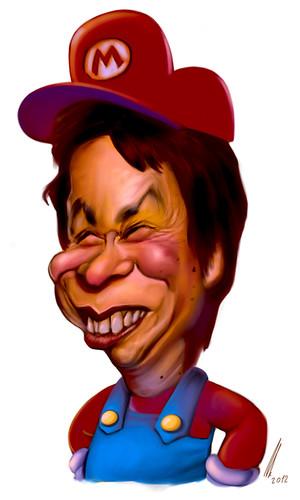 Shigeru Miyamoto, obra de Juan Carlos Abraldes