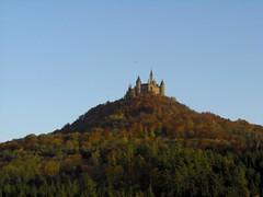 Hohenzollern Castle from afar (Rasierpinselbaum) Tags: castle swabianalb burghohenzollern hohenzollerncastle