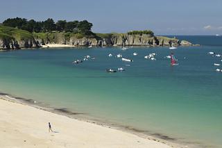 Plage des Grands Sables ~ Belle-Île-en-Mer [ Bretagne ~ France  ]