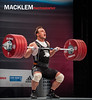 Ilya Ilin KAZ 94kg (Rob Macklem) Tags: world championship olympic weightlifting kaz ilya ilin 94kg