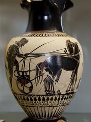 A Charioteer and his quadriga (egisto.sani) Tags: rome ceramica roma ceramic greek pot quadriga greca vasi auriga charioteer greci gregoriano museo museums vatican musei vaticani etrusco