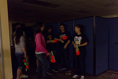 IMG_3286 (emilytchen) Tags: fall war gun nerf 2012 gauntlet lifegroup koinonia