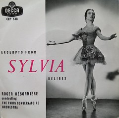 Excerpts from Sylvia - Delibes (Gareth Wonfor (TempusVolat)) Tags: nokia n8 record single sleeve recordsleeve excerpts sylvia delibes decca rogerdesormiere conservatoire paris orchestra parisconservatoire ballerina gareth mrmorodo tempusvolat tempus volat gw geotagged garethwonfor mr morodo wonfor