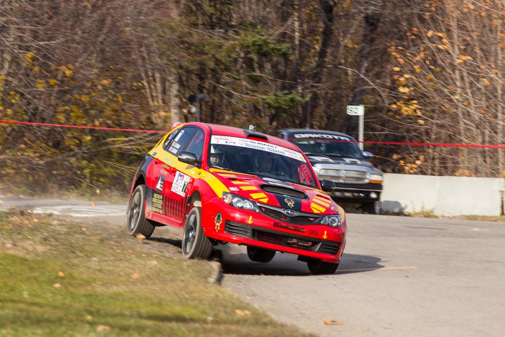 Frank Lognay / Larissa Lognay - Rallye de Charlevoix 2012